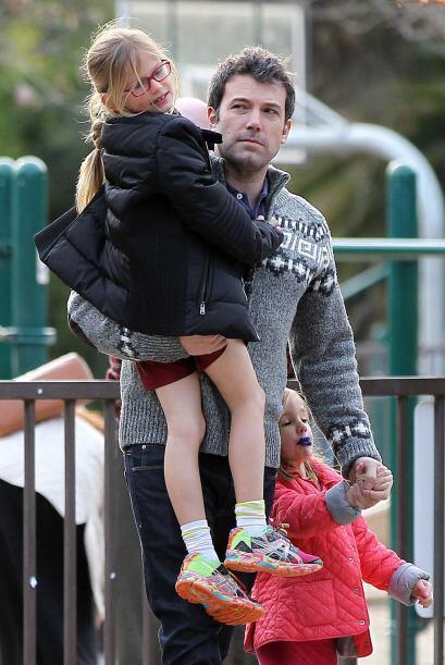 Los famosos estaban felices con sus hijos. Mira aquí los videos m...