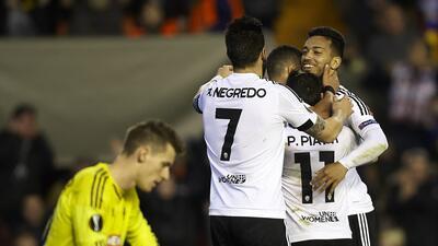 Rapid Viena vs. Valencia