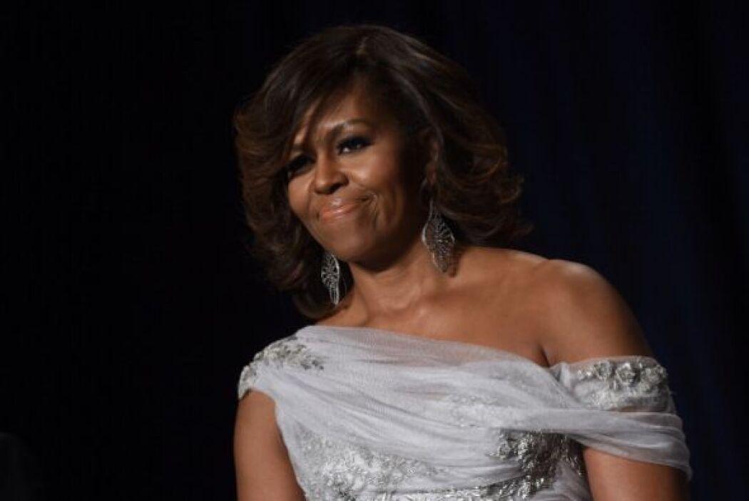 Obama fue anfitriona de miembros del mundo de la moda, la farándula, el...