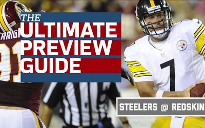 Lo que deben atacar Steelers y Redskins en sus duelos de la Semana 1