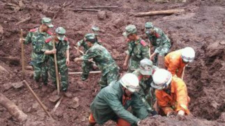 La devastación en Yunnan.