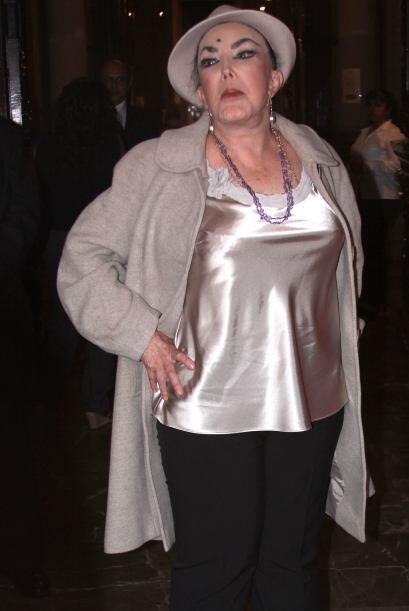 """Irma Serrano, conocida como """"La Tigresa"""", sostuvó en 19..."""