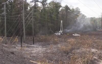 Cadena que colgaba de un camión habría ocasionado incendios forestales e...
