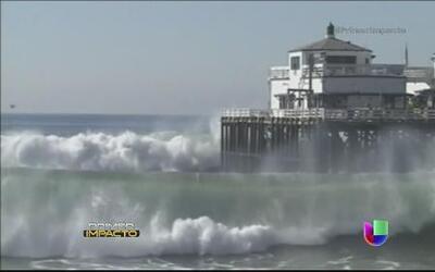 En estado de emergencia playas del Sur de California tras Tormenta Marie