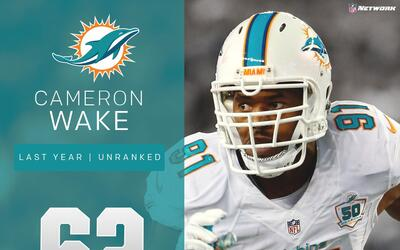 #62 Cameron Wake (DE, Dolphins) | Top 100 Jugadores 2017