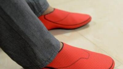 Los zapatos deportivos comenzaron como un proyecto para ayudar invidentes.