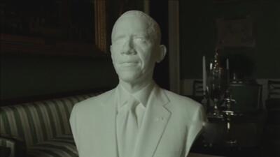 Obama, el primer presidente en tener una escultura 3D