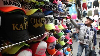 Gorras de El Chapo y Kate