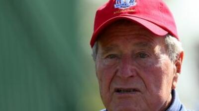 El exmandatario estadounidense George H.W. Bush.