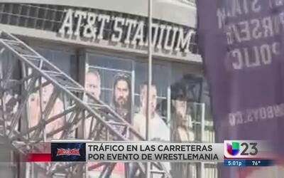 Caos vial en Arlington por WrestleMania