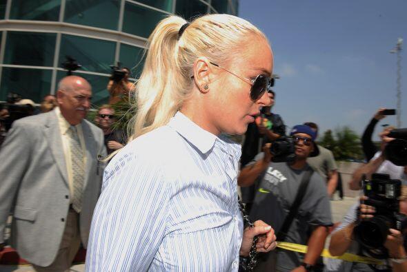 En junio 23 del 2011, LiLo fue llamada nuevamente a Corte. Esta vez porq...