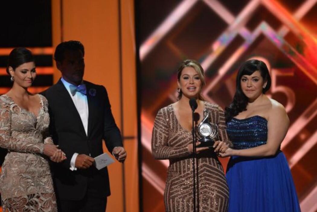 Fue uno de los momentos más emotivos de la noche, pues la familia de Jen...