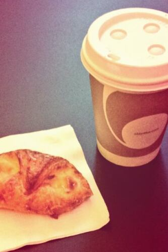La imagen del desayuno.
