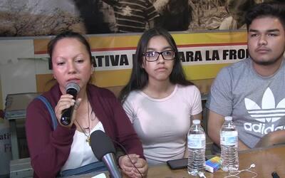 Conferencia de prensa de Guadalupe García a horas de ser deportada