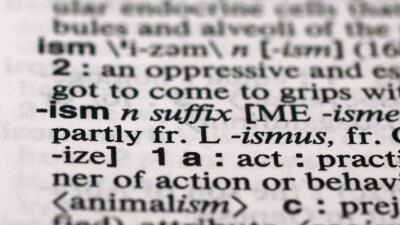 """Sufijo """"ismo"""" (ismus, en inglés) fue el más buscado en el diccionario"""