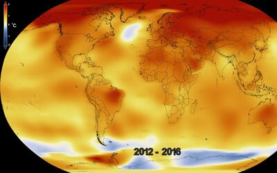 En video: así ha aumentado la temperatura global desde 1880