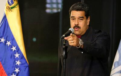 Maduro dice que Trump es víctima de una campaña de odio
