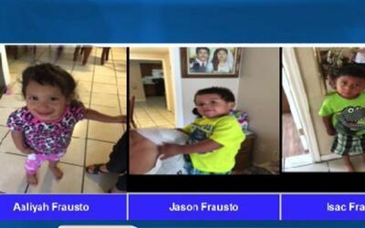 Capturan a madre acusada de llevarse a México a sus tres hijos menores d...