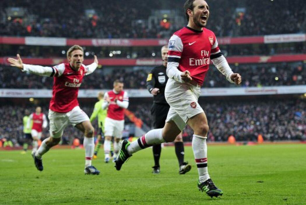 Con el Arsenal, Cazorla no sólo adelantó a los 'Gunners', también les di...