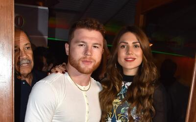 Saúl 'Canelo' Álvarez y su novia estuvieron en Puerto Rico.
