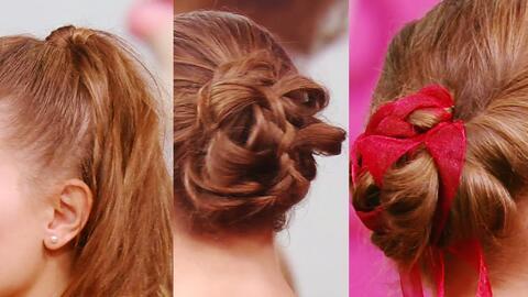 Tres hermosos, rápidos y fáciles peinados para impactar en tu fiesta de...