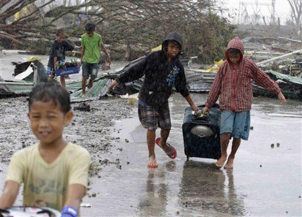 Save the Children trabaja en Filipinas desde 1981 y tiene amplia experie...
