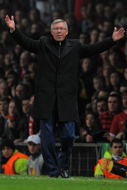 Sir Alex Ferguson no soportó la actitud de Berbatov y se lo dejó saber.
