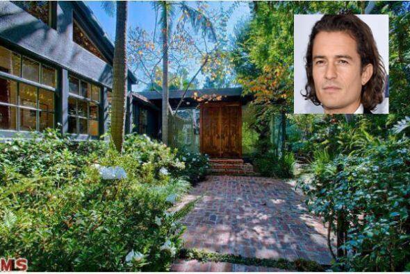 El actor Orlando Bloom adquirió esta majestuosa casa y despu&eacu...