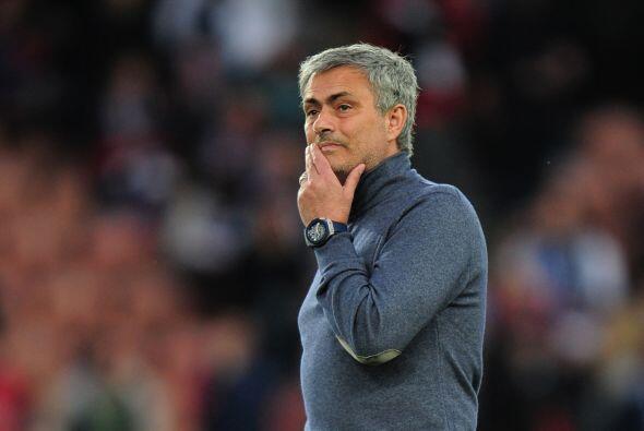 Un viejo madridista, José Mourinho, también estaba inmerso...