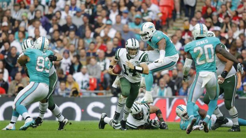 El primer juego internacional de la NFL se lo llevaron los Jets 27-14 so...