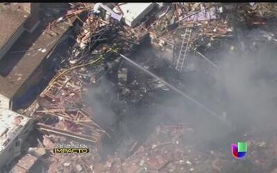 Potente explosión vuela una casa en Colorado