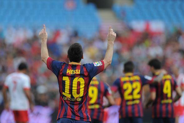 La calidad de Messi ponía diferencias.