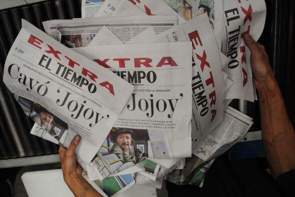Según la policía colombiana, Luis Suárez, alias Jor...