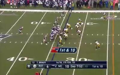 Jugada de fantasía para el segundo TD de los Patriots