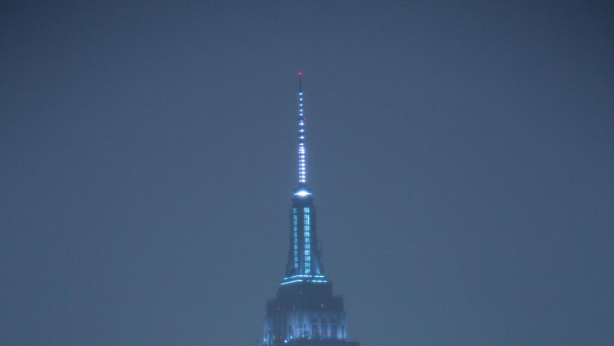 El Empire State se iluminó con los colores de New York City FC