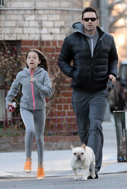 Por largo tiempo Ava y Hugh trotaron como inicio al entrenamiento físico...