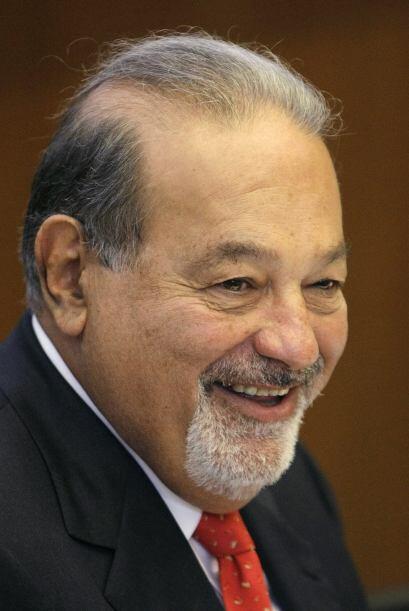Carlos Slim Helú es uno de los tres hombres más ricos del mundo y es mex...