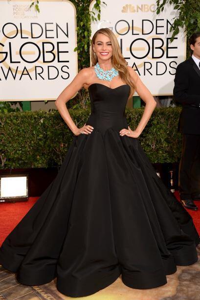 Por primera vez Sofía Vergara no llevó un vestido corte pr...