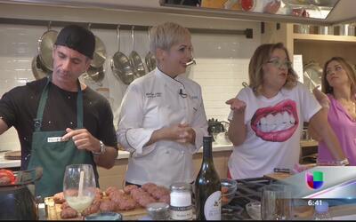 Univision Puerto Rico vive una tarde culinaria
