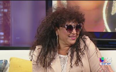 Amanda Miguel habla del amor por su cabello y la aceptación del nuestro...