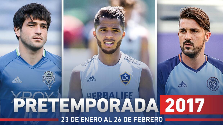 Premporada de la MLS 2017