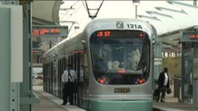 Plataforma del tren ligero
