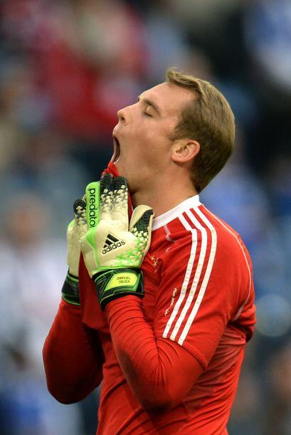 Las palabras de Neuer se las llevó el viento en el 2011 cuando terminó f...