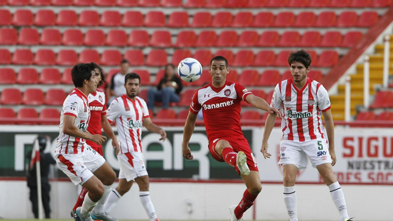 Necaxa igualó 1-1 con Toluca