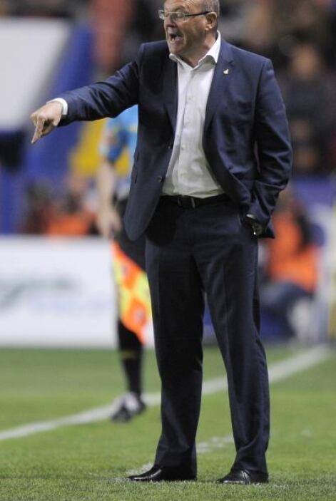 El entrenador es el español Pepe Mel, encargado del sorprendente Betis q...