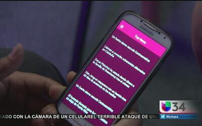 Aplicación móvil contra la violencia doméstica