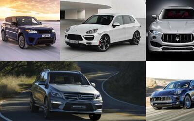 El segmento de las camionetas SUV entrega variadas opciones para quienes...