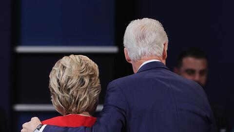 Trump confía en que si saca a relucir las infidelidades de Bill Clinton...