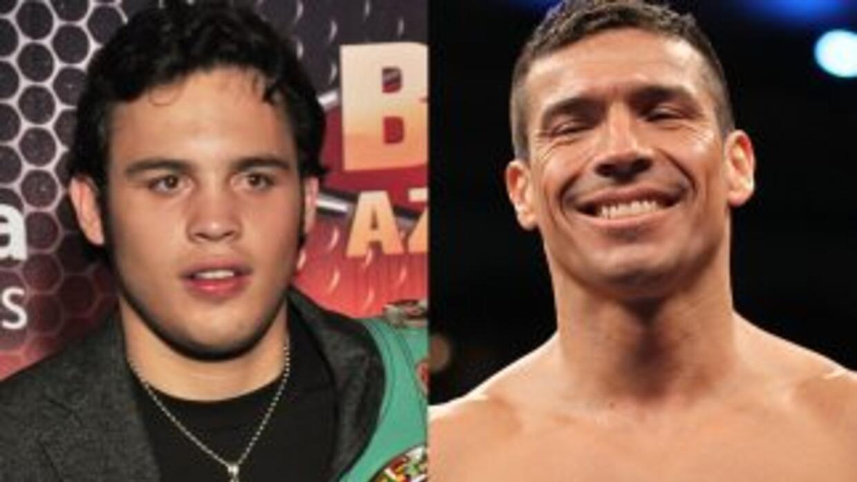 Julio César Chávez jr y Sergio Martínez ya firmaron para pelear en septi...