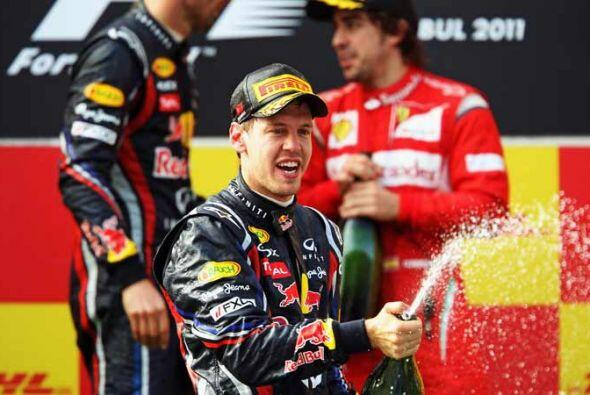 Vettel está comprobó una vez más que está en camino firme para lograr su...